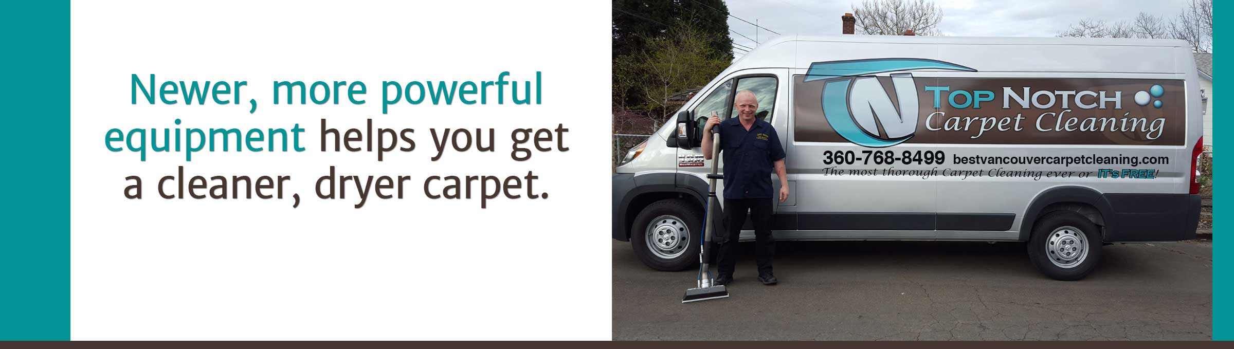 Top Notch Carpet Cleaning | Commercial & Residential Carpet Cleaning Services in Vancouver WA & Portland OR