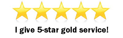 5 star gold service at Top Notch Carpet Cleaning in Vancouver WA