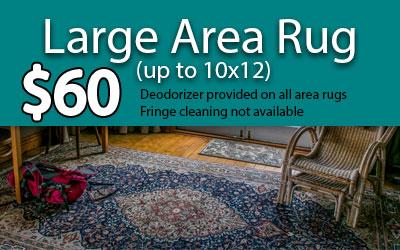 large rug pricing