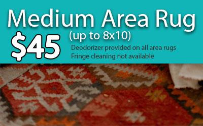 medium rug pricing